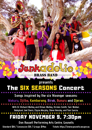 junkadelic band flyer